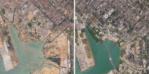 Satelity RapidEye idą na opóźnioną emeryturę <br /> Chińskie miasto Shenzhen w 2009 i 2019 r.