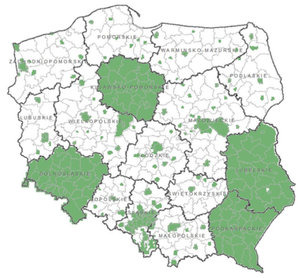Geoportal: już ponad połowa kraju z wysokorozdzielczą ortofotomapą <br /> Zasięg aktualizacji