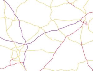 Geoportal: dane GDDKiA, aktualizacja BDOT10k, lepszy dostęp do metadanych <br /> Warstwa z danymi GDDKiA