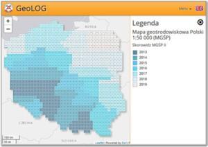 Ponad 300 nowych arkuszy mapy geośrodowiskowej <br /> Skorowidz MGśP
