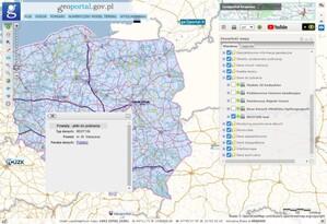 GUGiK udostępnia próbkę danych BDOT10k <br /> Warstwa pobierania próbki z Geoportal.gov.pl