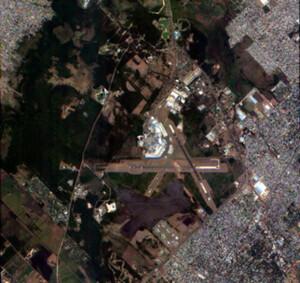 Jak zdjęcia satelitarne mogą pomóc w walce z pandemią COVID-19? <br /> Argentyna, zdjęcie wykonane przez satelitę Jilin-1 chińskiej firmy CG Satellite