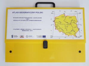 GUGiK zamawia atlas Polski dla niewidomych i słabowidzących