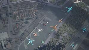 Syntetyczne zobrazowania usprawniają pracę sztucznej inteligencji <br /> Przykład syntetycznego zobrazowania satelitarnego
