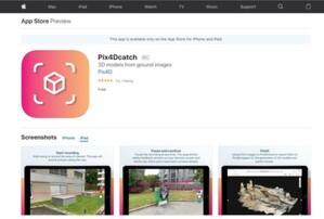 Pix4Dcatch zrobi użytek z LiDAR-a w iPadzie