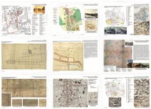 Ukazał się Atlas historyczny Łodzi <br /> Jedna z plansz atlasu