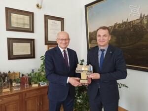 Nagroda inteligentnego miasta za model 3D Lublina <br /> fot. UM Lublin