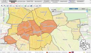 Aktualizacja danych demograficznych w stołecznym geoportalu