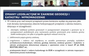 Państwowa Rada o kolejnych niezbędnych zmianach w prawie geodezyjnym
