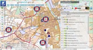 Nowe dane związane z koronawirusem na Geoportalu