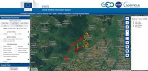 Pożar nad Biebrzą skartowany <br /> Rozkład przestrzenny alarmów pożarowych wygenerowanych z sensora VIIRS w okresie ostatnich 7 dni