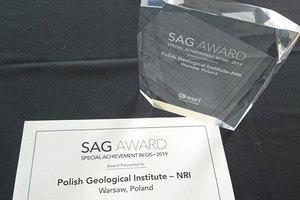Przedstawiciele PIG odebrali nagrodę SAG
