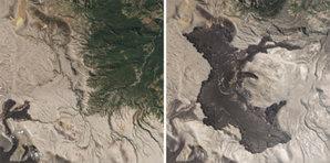 Satelity RapidEye idą na opóźnioną emeryturę <br /> Efekt wybuchu wulkanu Puyehue-Cordón Caulle w Chile