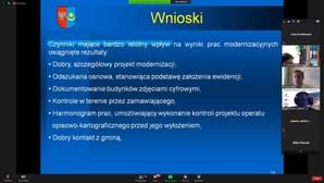 Samorządowcy, wykonawcy i GUGiK o sensownej modernizacji EGiB <br /> Fragment prezentacji Marka Ślązaka (Mińsk Maz.)