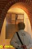 <b class=pic_title>Wnętrza Archiwum m.st. Warszawy, w których eksponowano plany Lindleya, urządzono specjalną aranżację, symbolizującą elementy zabudowy systemu wodno-kanalizacyjnego Warszawy zrealizowanego na przełomie XIX i XX wiekuprzez Lindleyów</b> <br /> <br /> <b class=pic_author>fot.  Anna Wardziak</b><br /> <br />