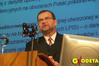 <b class=pic_title>Janusz Dygaszewicz, dyrektor Departamentu Informatyzacji i Rozwoju Państwowego Zasobu Geodezyjnego i Kartograficznego w GUGiK</b> <br /> <br /> <b class=pic_author>fot.  Jerzy Przywara</b><br /> <br />