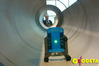 <b class=pic_title>Pokaz zasady działania lasera rurowego firmy Topcon</b> <br /> <br /> <b class=pic_author>fot.  Marek Pudło</b><br /> <br />
