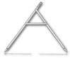 <b class=pic_title>Cyrkiel</b> <br /> <br /> <b class=pic_description>Cyrkiel - najprostsze narzędzie do pomiaru odległości. Wykonany był z dwóch drewnianych łat wzmocnionych podpórką i okuty na końcach. Odległość pomiędzy ich końcami była dowolna. Wskazane było, by kąt pomiędzy łatami wynosił 60°, a rękojeść cyrkla sięgała do piersi człowieka o przeciętnym wzroście. Sam pomiar na gruncie jest podobny do pomiaru zwykłym cyrklem na papierze. Ostatnio narzędzie to było w powszechnym użyciu w czasie prac związanych z reformą rolną wprowadzaną po drugiej wojnie światowej.</b> <br /> <br />