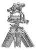 <b class=pic_title>Teodolit z busolą</b> <br /> <br /> <b class=pic_description>Teodolit (zwany czasami kątomierzem) z busolą, wyprodukowany na początku XX wieku przez firmę G. Gerlach z Warszawy. Wyposażony był w lunetę, dwa koła odczytowe z noniuszami oraz busolę. Podpórka koła pionowego została tak skonstruowana, by umożliwić łatwy odczyt ustawienia igły (busoli), gdy ta zajmuje położenie na linii łączącej obie podpórki. Busola służyła do określenia położenia linii celowej względem południka magnetycznego.</b> <br /> <br />