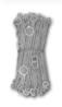 <b class=pic_title>Łańcuch mierniczy</b> <br /> <br /> <b class=pic_description>Łańcuch mierniczy znany był już w średniowieczu. Prawdopodobnie po raz pierwszy zastosowano go w Anglii. Długość łańcucha uzależniona była od jednostki miary. Na początku XX w. w Polsce były w użyciu jeszcze łańcuchy 10-sążniowe i 10-metrowe. Poszczególne ogniwa oznaczały część sążnia lub metra do każdego łańcucha dołączone były dwie tyczki i komplet szpilek.</b> <br /> <br />
