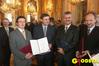 Wręczenie nagród ministra infrastruktury w dziedzinie geodezji i kartografii