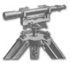 <b class=pic_title>Niwelator z wyjmowaną lunetą</b> <br /> <br /> <b class=pic_description>Niwelator firmy G. Gerlach z początku XX wieku. Model z lunetą wyjmowaną z łożyska (widełek). Dawniej niwelatory nazywano także poziomnicami.</b> <br /> <br />