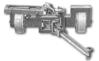 """<b class=pic_title>Planimetr kulisto-walcowy</b> <br /> <br /> <b class=pic_description>Planimetr wyprodukowany przez firmę G. Coradi z Zurychu, lata 20. XX wieku. Urządzenie służyło do pomiaru powierzchni. Ruchome ramię wodzące połączone było z kółkiem całkującym, na które przenoszone były z kolei obroty jednego z kół """"wózka"""".</b> <br /> <br />"""