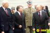 <b class=pic_title>Prezydenta Aleksander Kwaśniewski oraz Jerzy Rasilewicz, szef Agencji Mienia Wojskowego (z lewej) i Jacek Studencki, prezes firmy Techmex S.A.</b> <br /> <br /> <b class=pic_author>fot.  Marek Pudło</b><br /> <br />