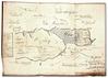 <b class=pic_title>Kopia rysunku odręcznego miasta narodowego Latowicza w roku 1821 przez burmistrza tegoż miasta sporządzonego, 1822 r.</b> <br /> <br /> <b class=pic_description>Rękopis wielobarwny, język polski, wymiary: 36,6 x 51,8 cm(plan wszyty w akta), skala: około 1:5000  AGAD, KRSW, 1210, s. 305</b> <br /> <br /> <b class=pic_author>fot.  autor: Augustyn Dorantowicz –  burmistrz Latowicz</b><br /> <br />