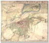 <b class=pic_title>Plan miasta Warszawy</b> <br /> <br /> <b class=pic_description>Plan von der Stadt Warschau, 1808-1809 r.,miedzioryt wielobarwny,język polski, język niemiecki, wymiary: 77,1 x 66,3 cm,skala: około 1:11700  AGAD, Zb. Kart. 542-24b</b> <br /> <br /> <b class=pic_author>fot.  autor: Joseph Bach</b><br /> <br />