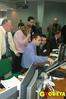 <b class=pic_title>Obecność na prezentacji zagranicznych specjalistów odzdjęć satelitarnych była doskonałą okazją do nawiązania międzynarodowej współpracy</b> <br /> <br /> <b class=pic_author>fot.  Marek Pudło</b><br /> <br />