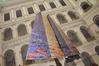 <b class=pic_title>Oprawę plastyczną wernisażu stanowiły obrazy Piusa Ciapało</b> <br /> <br /> <b class=pic_author>fot.  Jerzy Przywara</b><br /> <br />