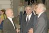 <b class=pic_title>Stanisław Nazalewicz (w środku) oraz rektor Politechniki Warszawskiej prof. Włodzimierz Kurnik (z prawej) i malarz Pius Ciapało</b> <br /> <br /> <b class=pic_author>fot.  Jerzy Przywara</b><br /> <br />