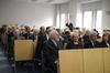 <b class=pic_title>Jubileusz 85-lecia prof. Zbigniewa Sitka</b> <br /> <br /> <b class=pic_description>W pierwszej ławce od lewej: prof. Zbigniew Sitek, Elżbieta Biel (SGP), dr Kazimierz Bujakowski (główny geodeta kraju) oraz prof. Alina Maciejewska (dziekan WGiK Politechniki Warszawskiej)</b> <br /> <br /> <b class=pic_author>fot.  fot. Andrzej Wróbel i Andrzej Kmieciński</b><br /> <br />
