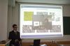 <b class=pic_title>Jubileusz 85-lecia prof. Zbigniewa Sitka</b> <br /> <br /> <b class=pic_description>Prezentacja Piotra Tokarczyka, doktoranta Politechniki Federalnej w Zurychu, na temat najnowszych trendów badawczych w fotogrametrii i teledetekcji</b> <br /> <br /> <b class=pic_author>fot.  fot. Andrzej Wróbel i Andrzej Kmieciński</b><br /> <br />