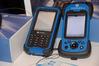 <b class=pic_title>Targi INTERGEO 2013 ? tachimetry, niwelatory i GNSS</b> <br /> <br /> <b class=pic_description>Po prawej nowy rejestrator Stonex S4 o dwukrotnie lepszej rozdzielczości ekranu niż jego poprzednik S3. Może także służyć jako GIS-owy odbiornik GPS lub DGPS</b> <br /> <br /> <b class=pic_author>fot.  Jerzy Królikowski</b><br /> <br />