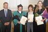 <b class=pic_title>Inauguracja roku akademickiego 2019/2020 na Wydziale Geodezji i Kartografii Politechniki Warszawskiej</b> <br /> <br /> <b class=pic_description>Nagrodę zespołową otrzymały m.in. (od prawej): dr inż. arch. Małgorzata Havel, dr hab. inż. Adrianna Czarnecka oraz prof. dr hab. Alina Maciejewska</b> <br /> <br /> <b class=pic_author>fot.  Damian Czekaj</b><br /> <br />