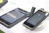 <b class=pic_title>Intergeo 2018: tachimetry i odbiorniki GNSS</b> <br /> <br /> <b class=pic_description>Jak zapewnia chińska firma Hi-Target, w sprzyjających warunkach pomiarowych ten smartfon i tablet mogą wyznaczać pozycję z centymetrową dokładnością bez konieczności korzystania z zewnętrznej anteny</b> <br /> <br /> <b class=pic_author>fot.  Jerzy Królikowski</b><br /> <br />