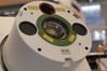 <b class=pic_title>Intergeo 2018: fotogrametria</b> <br /> <br /> <b class=pic_description>W tym roku austriacki Riegl postawił duży nacisk na lotnicze skanery batymetryczne. Na zdjęciu widoczny jest model VQ-880-GII. W porównaniu do pierwszej generacji wyróżnia go zwiększona moc podczerwonego lasera, która ma usprawnić modelowanie powierzchni wody. Druga batymetryczna nowość - VQ-840-G, przeznaczona jest przede wszystkim dla dronów. Pozwala nie tylko skanować dna zbiorników wodnych, ale także - dzięki laserowi w podczerwieni - prowadzić pomiary topograficzne. Co istotne, system można łatwo zintegrować z cyfrową kamerą, a jego waga nie przekracza 15 kg w pełnym rynsztunku (z GNSS-IMU i kamerą)</b> <br /> <br /> <b class=pic_author>fot.  Jerzy Królikowski</b><br /> <br />