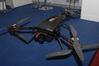 <b class=pic_title>Intergeo 2018: drony</b> <br /> <br /> <b class=pic_description>Polska firma FlyTech UAV zaprezentowała nowy model 6-silnikowego wirnikowca zaprojektowany z myślą o pomiarach linii energetycznych. W zależności od potrzeb i objętości portfela klienta może być wyposażony albo w kamerę i lotniczy skaner (jak na zdjęciu), albo w dwie kamery, z których zdjęcia będą przetwarzane do chmury punktów</b> <br /> <br /> <b class=pic_author>fot.  Jerzy Królikowski</b><br /> <br />