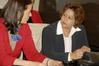 <b class=pic_title>Na spotkanie przybyła radca ambasady RPA w Polsce Rashida Adams (z prawej)</b> <br /> <br /> <b class=pic_author>fot.  Jerzy Przywara</b><br /> <br />