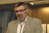 <b class=pic_title>Spotkanie prowadził prodziekan Wydziału Geodezji i Kartografii dr Andrzej Pachuta</b> <br /> <br /> <b class=pic_author>fot.  Jerzy Przywara</b><br /> <br />