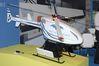 <b class=pic_title>Intergeo: bezzałogowe maszyny latające</b> <br /> <br /> <b class=pic_description>Dron wagi ciężkiej i do tego z podczepionym lotniczym radarem</b> <br /> <br /> <b class=pic_author>fot.  JK</b><br /> <br />