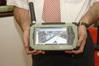 <b class=pic_title>Ten tablet Leica CS25 może stanowić samodzielny zestaw do pomiarów RTK, i to bez zewnętrznej anteny</b> <br /> <br /> <b class=pic_author>fot.  Jerzy Królikowski</b><br /> <br />