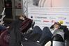 <b class=pic_title>Najbardziej nietypowe stoisko targów ? fotele relaksacyjne. W sam raz na stres spowodowany kryzysem</b> <br /> <br /> <b class=pic_author>fot.  Jerzy Królikowski</b><br /> <br />