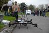 <b class=pic_title>Targi INTERGEO 2014 ? drony</b> <br /> <br /> <b class=pic_description>Ten dron (RiCOPTER) zbudowany przez austriackiego Riegla waży aż 25 kg, ale jest wyposażony w lotniczy skaner laserowy i profesjonalny system nawigacji. Cena: bagatela milion złotych</b> <br /> <br /> <b class=pic_author>fot.  Jerzy Królikowski</b><br /> <br />