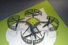 <b class=pic_title>Targi INTERGEO 2014 ? drony</b> <br /> <br /> <b class=pic_description>Ten dron firmy Javad GNSS to odbiornik satelitarny ze śmigiełkami, dlatego w mgnieniu oka można go zamienić w zwykły zestaw RTK (i na odwrót)</b> <br /> <br /> <b class=pic_author>fot.  Jerzy Królikowski</b><br /> <br />
