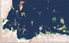 Mapa koralowców z Zatoki Perskiej