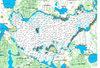 Mapa jeziora Śniardwy dla wybranych odbiorników