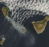 Satelita NASA fotografuje pożar na Wyspie Kanaryjskiej